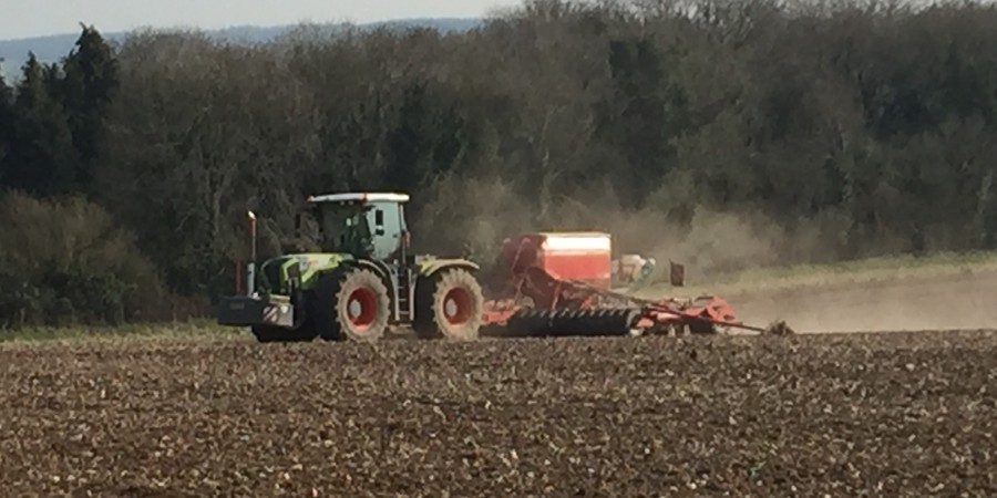 Chalke Valley Farming Drilling