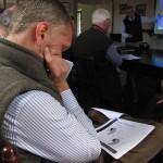 Scrutinising results at JVFG summer meeting 2015