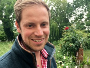 JVFG member Olly Stratford, Farm Manager for EC Drummond arable business in Wiltshire