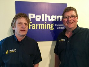 Edward Hitchcock (right) and Ian Watson, directors of Pelham Farming and JVFG members reflect on 18 years of joint venture adventures.