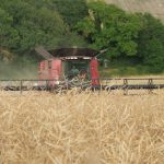 JVFG measures combine harvester running costs