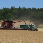 JVFG measures combine harvester costs