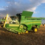 JVFG benchmarking information steered the joint venture choice to lease John Deere combine