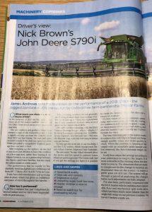 JVFG Farmers Weekly benchmarking