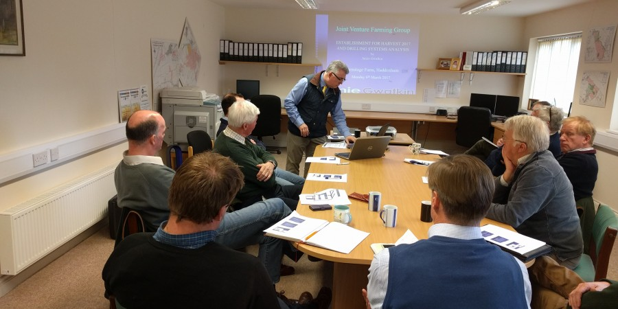 JVFG members listen intently to benchmarked establishment costs
