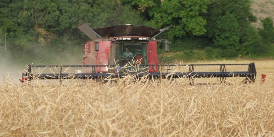 JVFG measures combine harvester running costs
